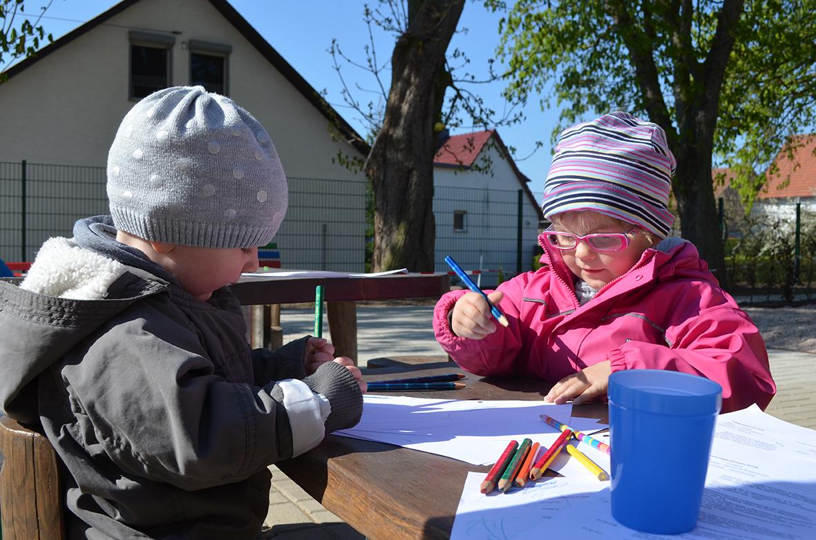 Malen im Freien
